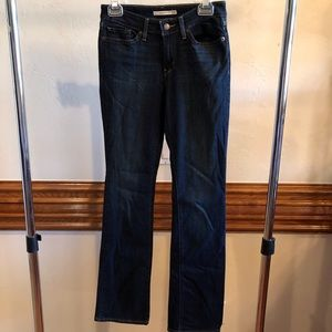 Levi's Woman's 715 Boot Cut Jeans size 27